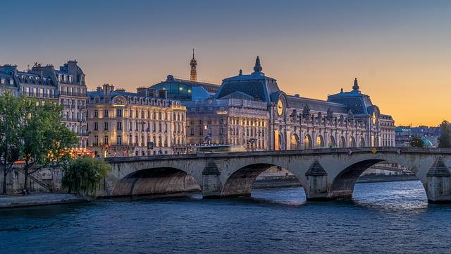 Paris, Museum, France, Architecture, Building, Famous