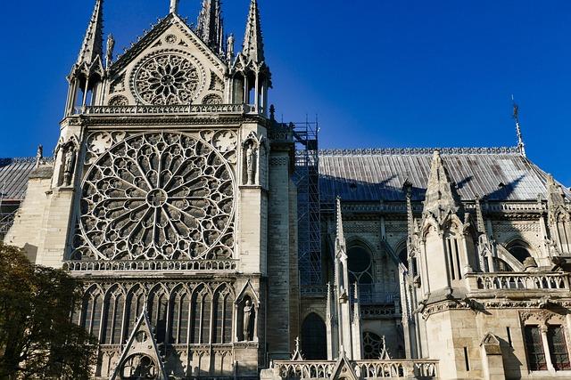 Notre-dame, Architecture, Church, France, Paris