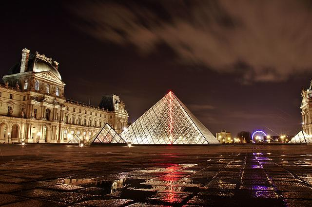 Louvre, Paris, France, Architecture, Art, Building