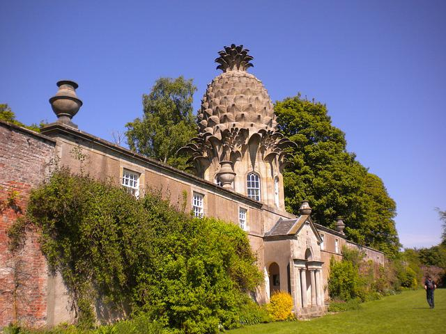 Pineapple, Scotland, Scottish Folly, Architecture