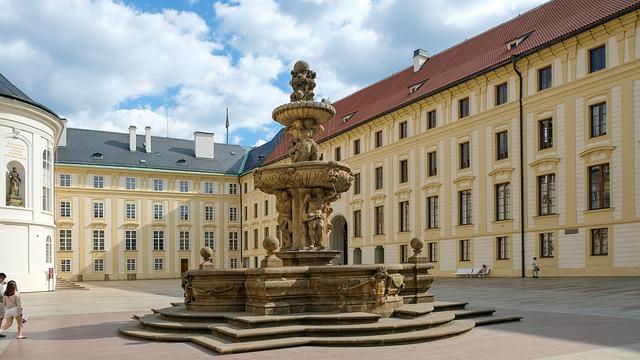 Prague, Praha, Prague Castle, Architecture