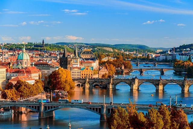 Water, City, Town, Cityscape, Architecture, Prague