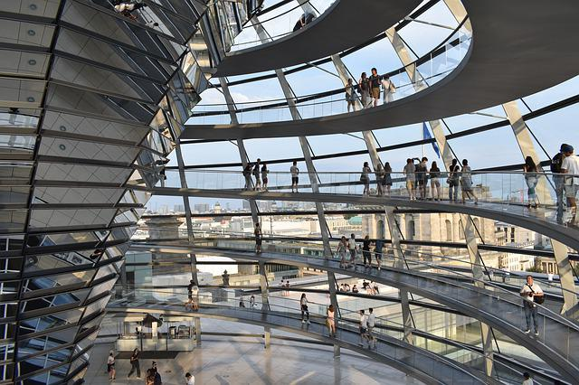 Berlin, Architecture, Modern, Reichstag, Germany