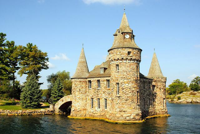 Canada, Mille - îles, Castle, Architecture, Residence