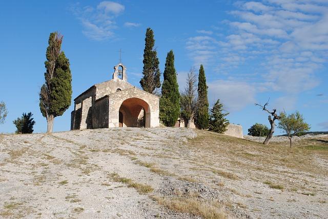 Chapel, Alpilles, Romanesque, Architecture, France