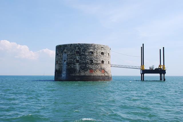 Rochelle, France, Europe, Architecture, Sea, Ford