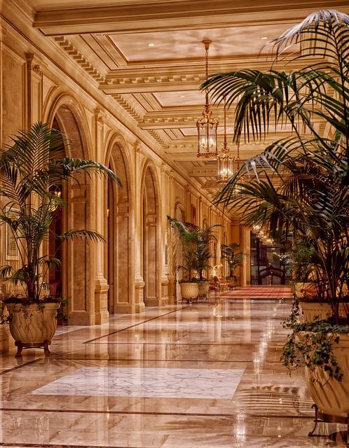 Sheraton Palace Hotel, Lobby, Architecture