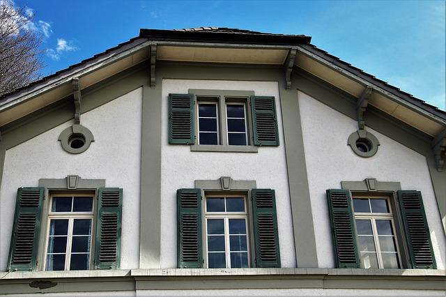 The Roof Of The, Shutters, Architecture, Window, House