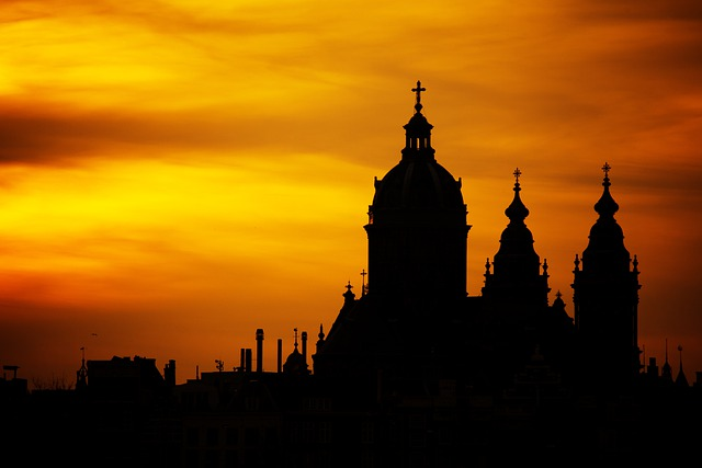 Silhouette, Architecture, Church, Cathedral, Building