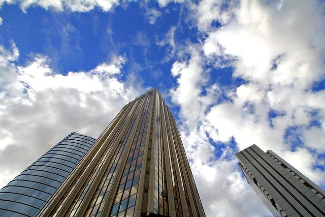 City, Sky, Skyscraper, Architecture, Modern, Building