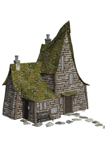 Small House, Home, Building, Architecture, Old Town