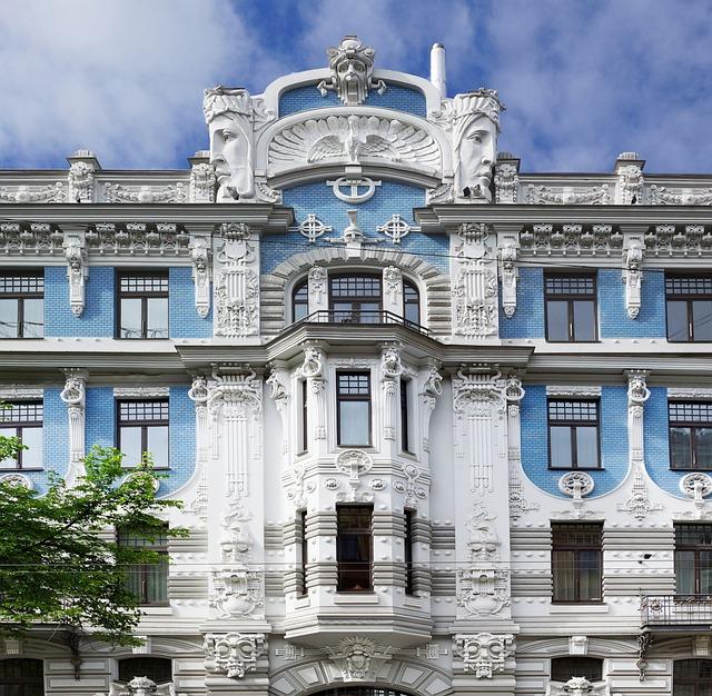 Squad, Latvia, Architecture, Art Nouveau, Housewife