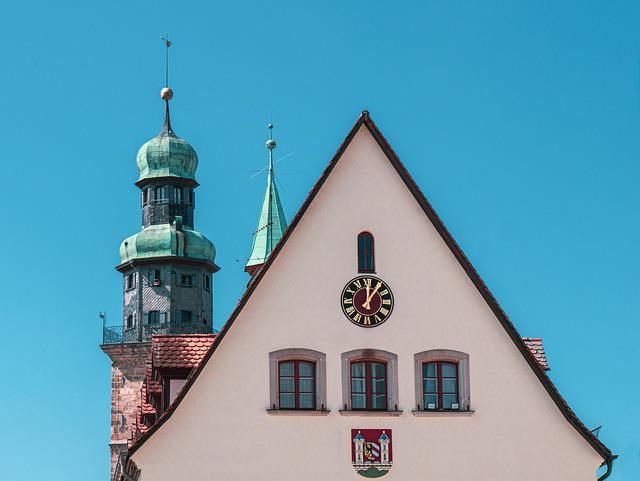 House, Building, Steeple, Facade, Window, Architecture