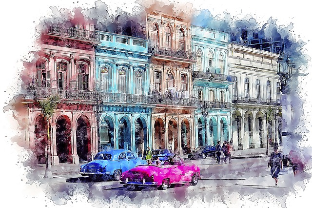Architecture, Travel, City, Street, Tourism, Cuba