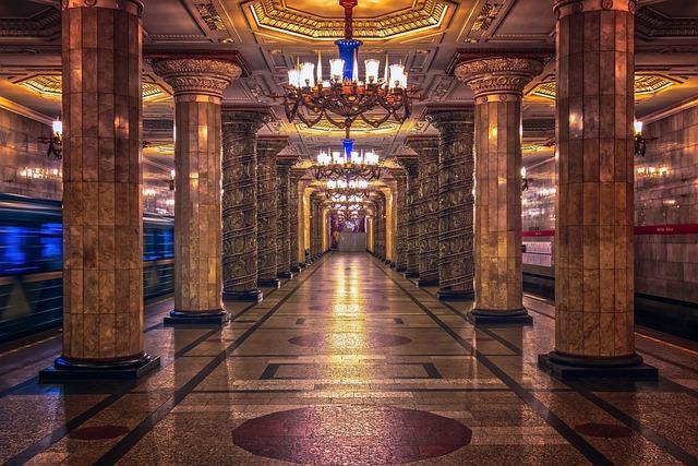 Metro, Railway Station, Architecture, Subway, Transport