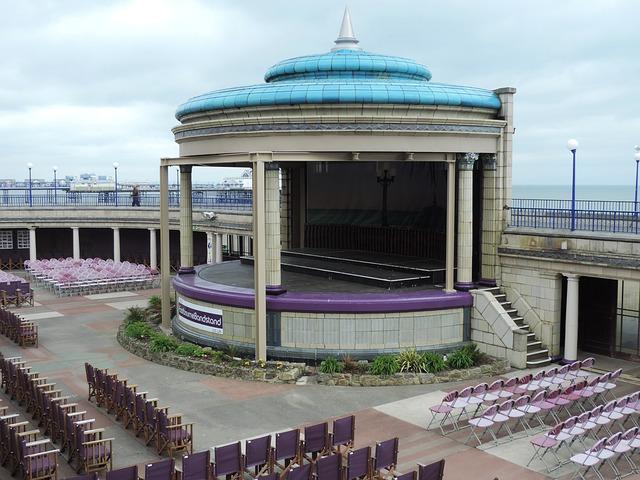 Bandstand, Eastbourne, Sussex, Architecture, Landmark