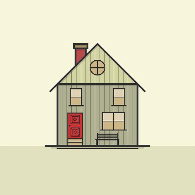 House, Icon, Symbol, Architecture, Roof, Window, Door
