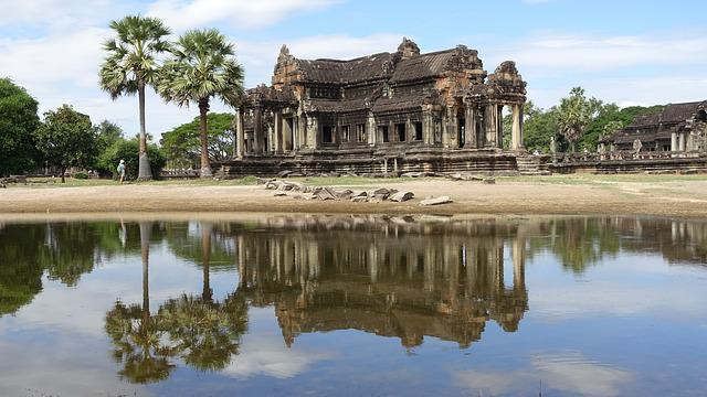 Architecture, Travel, Reflection, Culture, Temple