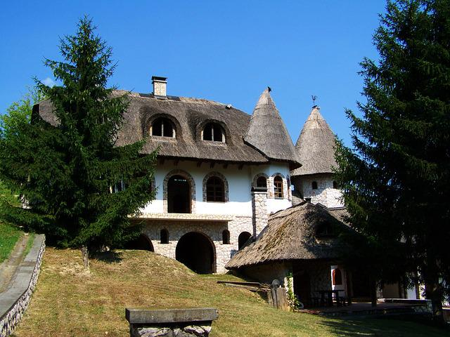 Thatched House, Mohács-vineyard, Architecture, Holidays