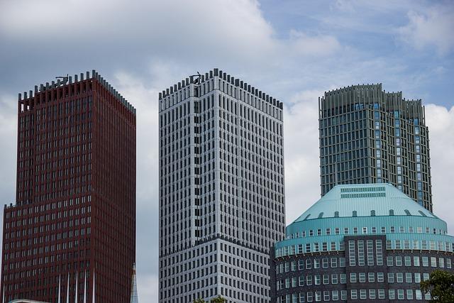 Architecture, Buildings, The Hague, City, Netherlands
