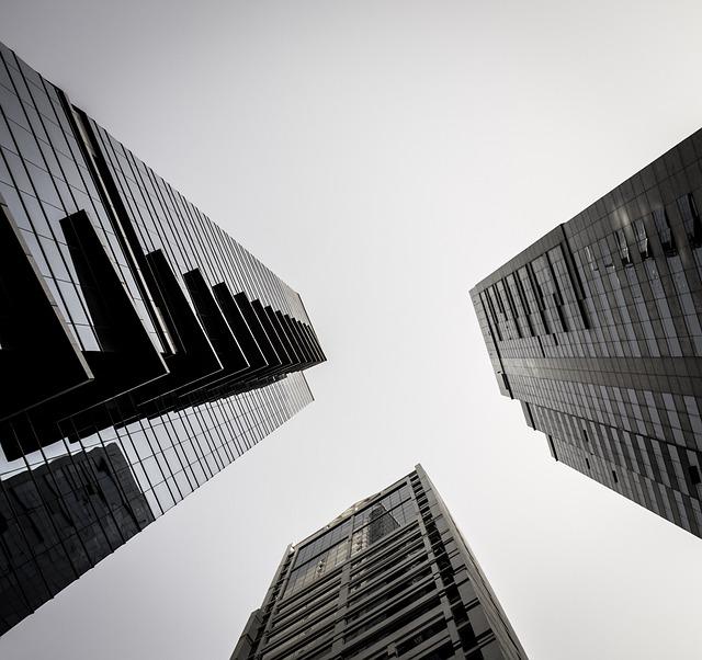 Architecture, Office, Business, The Skyscraper