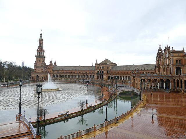 Seville, Spain, Andalusia, Architecture, Tourism