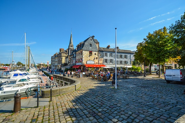 City, Travel, Tourism, Town, Architecture, Honfleur