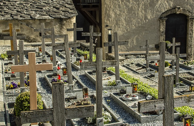 Old, Architecture, Travel, Cemetery, Alpine