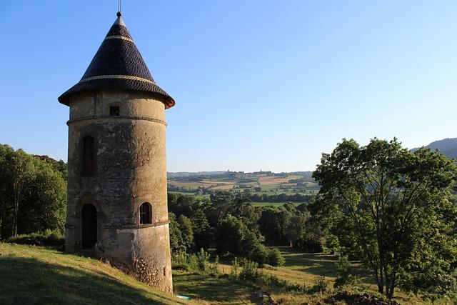 Architecture, Tower, Travel, Field, Castle, Garden