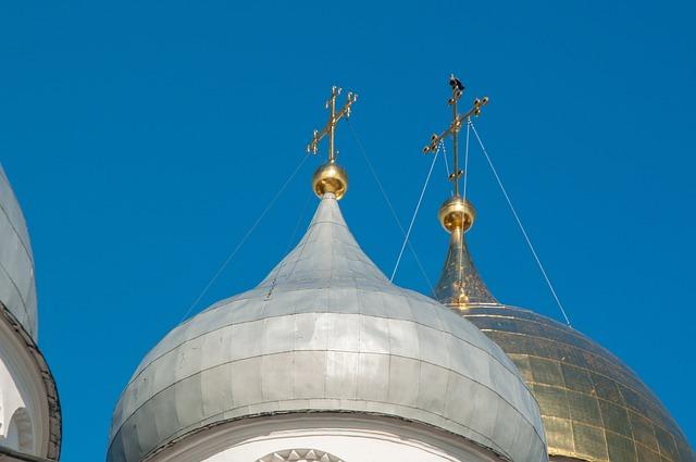 Sky, Architecture, Dome, Travel, Great, Novgorod