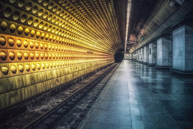 Metro, Architecture, Travel, Transport System, Building