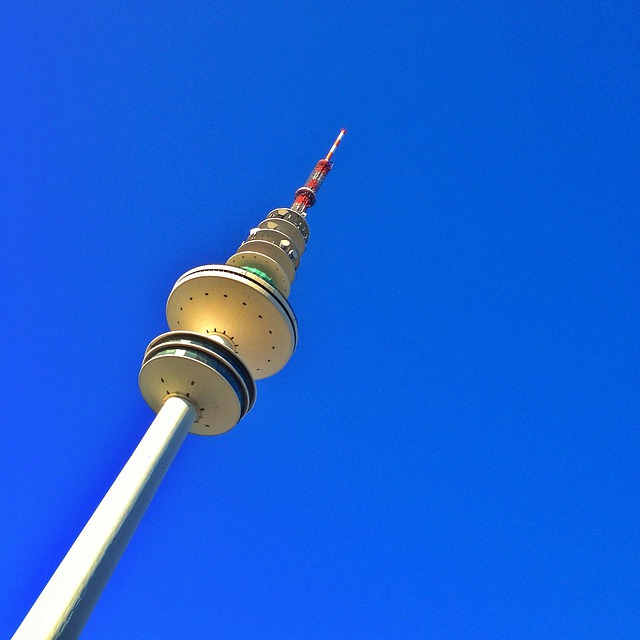 Tv Tower, Architecture, Heinrich Hertz Tower, Hamburg