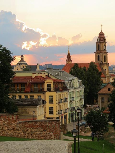 Vilnius, Lithuania, Lietuva, Architecture