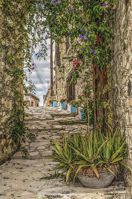 Architecture, Traditional, Backstreet, Houses, Wall