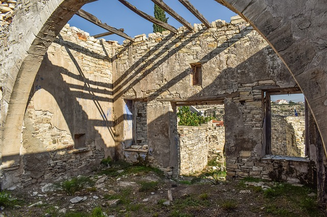 Architecture, Old, Stone, Building, Damaged, Weathered