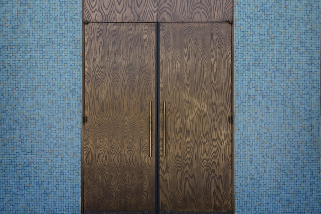 Door, Tile, Wood, Architecture, Simple