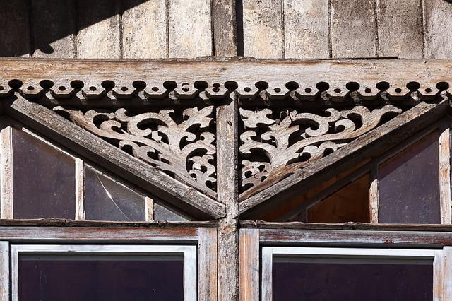 Home, Facade, Window, Architecture, Wood, Carved