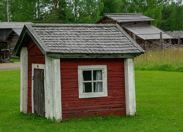 Finland, Wooden House, Architecture