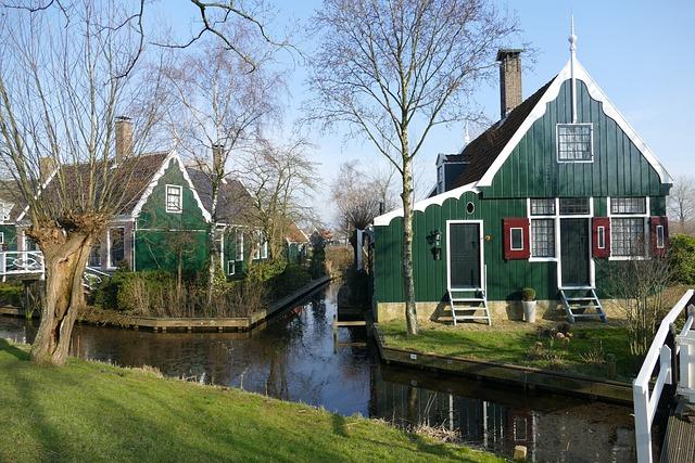 House, Architecture, Zaanse Schans, Zaandam