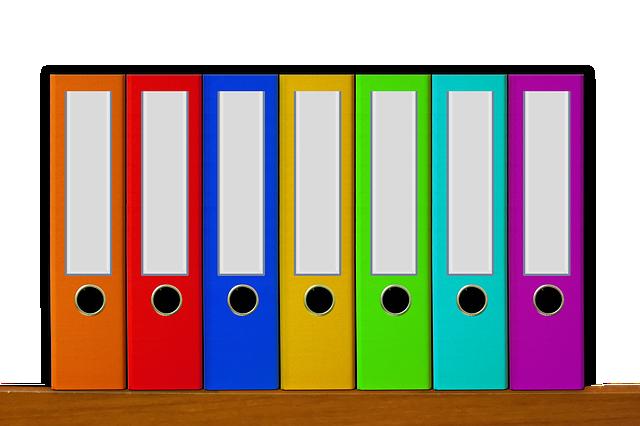 Office, Files, Aktenordner, File, Archive, Archives