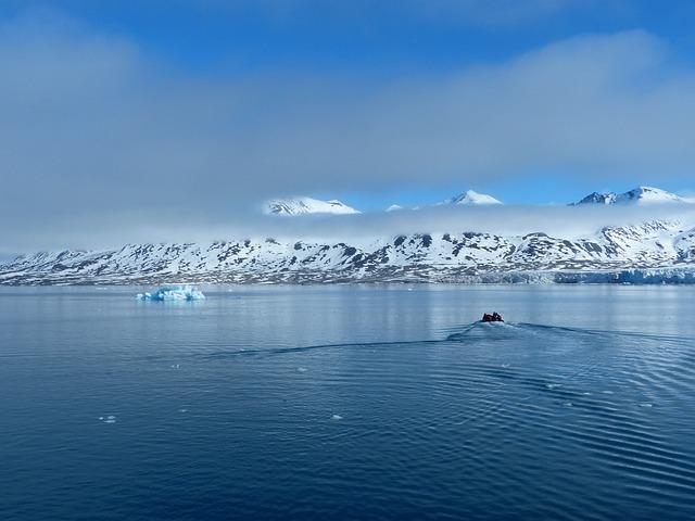 Spitsbergen, Zodiac, Arctic, Still, Lonely, Light, Ice
