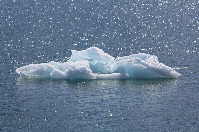 Ice Floe, Sea, Arctic, Iceberg