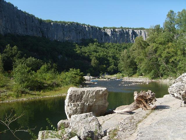 Ardèche, Rock, Wild Camping