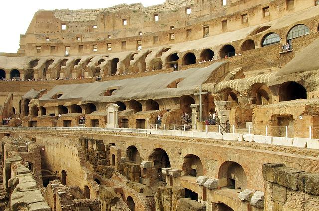 Italy, Rome, Coliseum, Colosseum, Arena, Bleachers