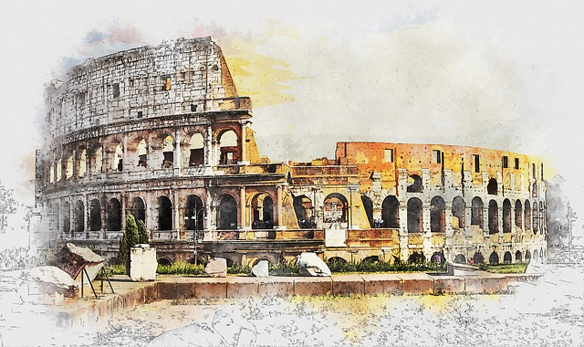 Colosseum, Rome, Italy, Ancient, Old, Arena, Building