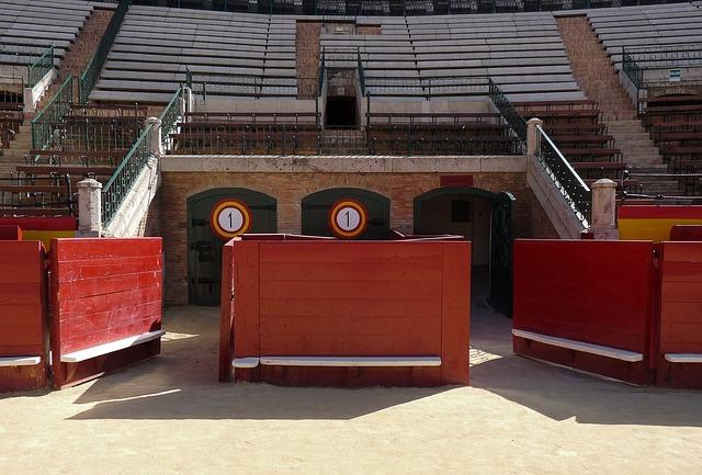 Spain, Arenas, Bullfight, Bullfighting