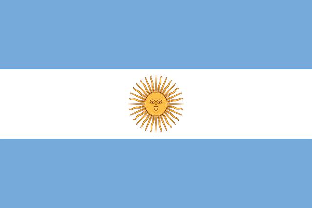 Argentina, Flag, National Flag, Nation, Country, Ensign