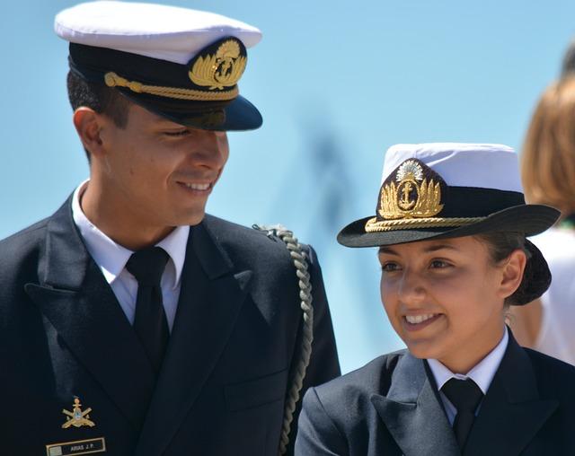 Woman, Man, Soldier, Navy, Argentina