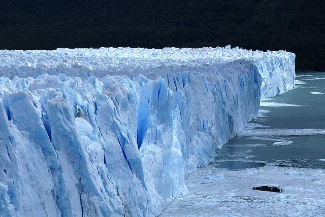 Ice, Blue, Patagonia, Argentine, South, Glacier