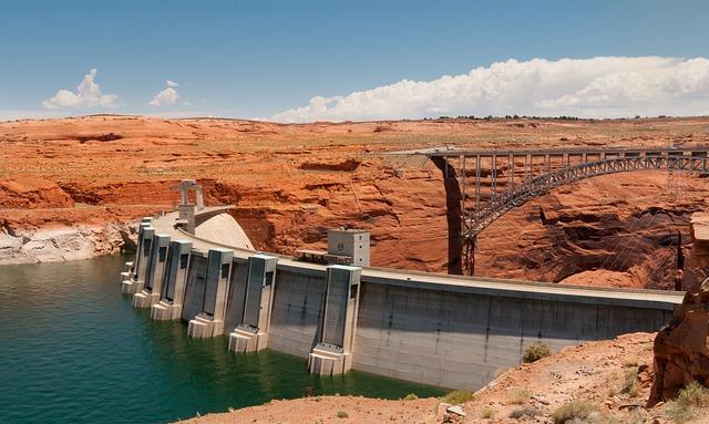 Dam, Glen Canyon Dam, Arizona